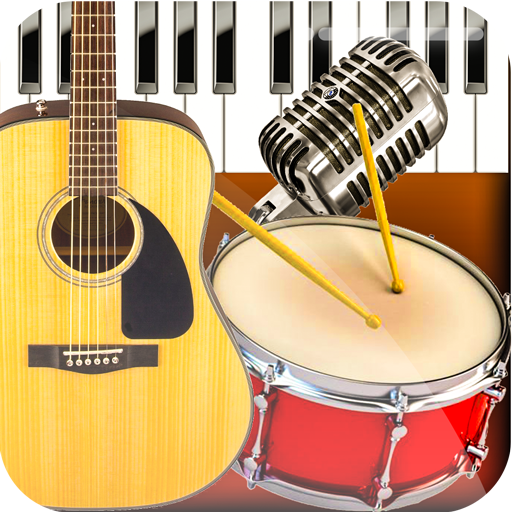 Band Live Rock 🎵 drum, bass, guitar, piano, mic 3.3.2 APK MOD | Download Android