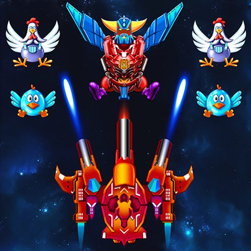 Chicken Shooter: Galaxy Attack 2.8 APK MOD | Download Android