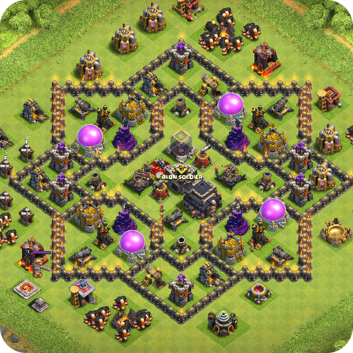 Maps of Coc TH9 1.1.3 APK MOD | Download Android