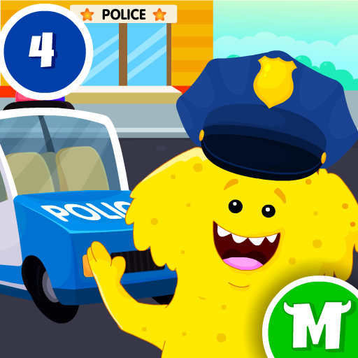 My Monster Town – Police Station Games for Kids 1.4 APK MOD | Download Android