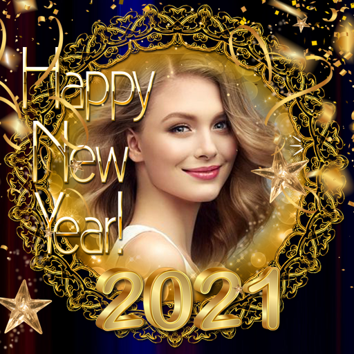 2021 New Year Photo Frames Greeting Wishes  APK Pro   Premium APP Free Download