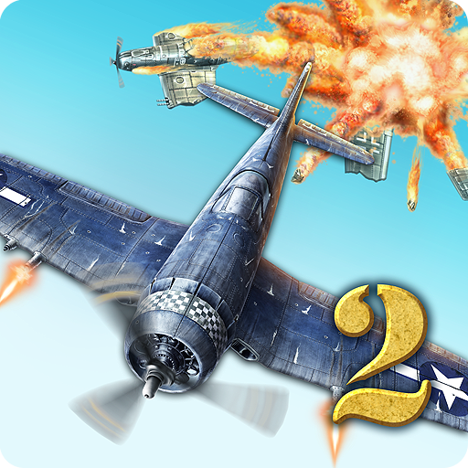 AirAttack 2 – WW2 Airplanes Shooter 1.4.2 APK MOD | Download Android