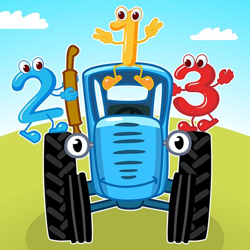 Blue Tractor Games for Toddlers 2 Years Old! Pre K  1.1.4 APK MOD | Download Android