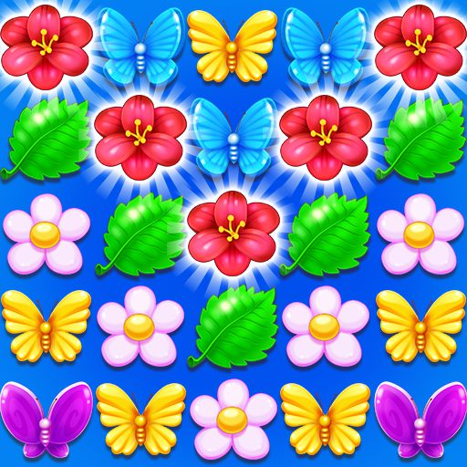 Butterfly Flower Free Match 1.6 APK MOD   Download Android