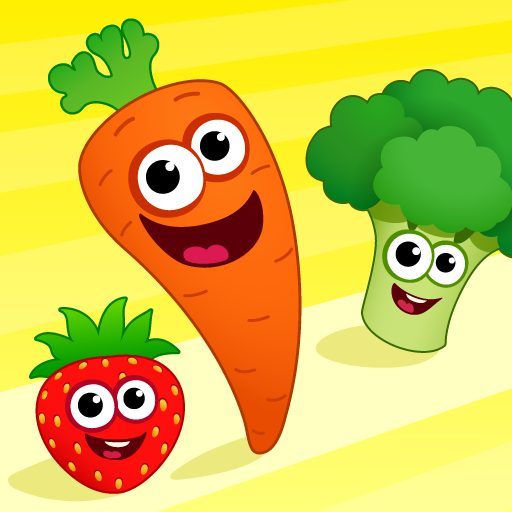FunnyFood Kindergarten learning games for toddlers 2.4.1.19 APK MOD   Download Android