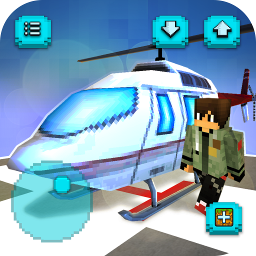 Helicopter Craft: Flying & Crafting Game 2020 1.28-minApi19 APK MOD | Download Android