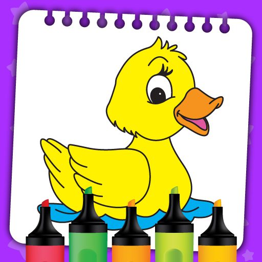 Kids Coloring Book Paint & Coloring Games for Kids 1.0.0.9 APK MOD | Download Android