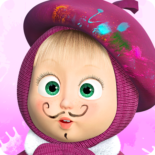 Masha and the Bear: Free Coloring Pages for Kids  1.7.6 APK MOD | Download Android