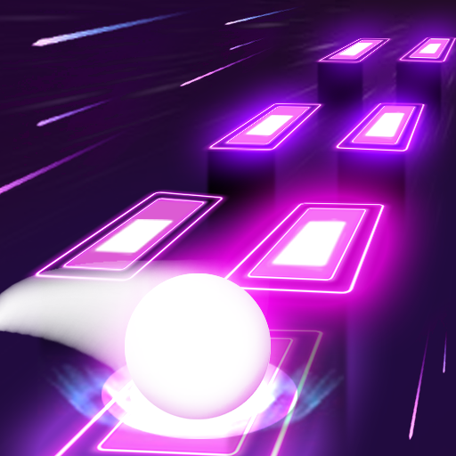Neon Tiles Hop Color Ball : Forever Dancing Ball  1.5 APK MOD   Download Android