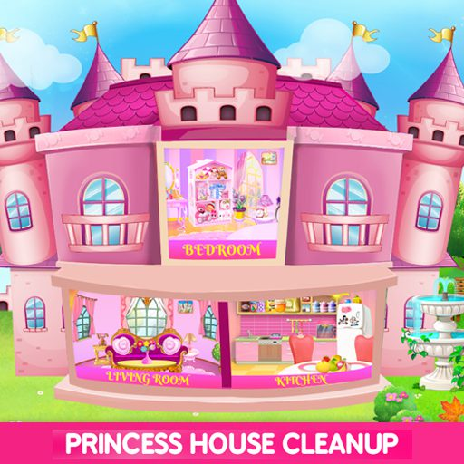 Princess House Cleanup For Girls: Keep Home Clean 23.0.0 APK MOD | Download Android