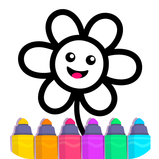 Toddler Drawing Academy🎓 Coloring Games for Kids  APK MOD   Download Android